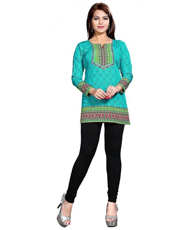 Indian Printed Womens Blouse Clothes