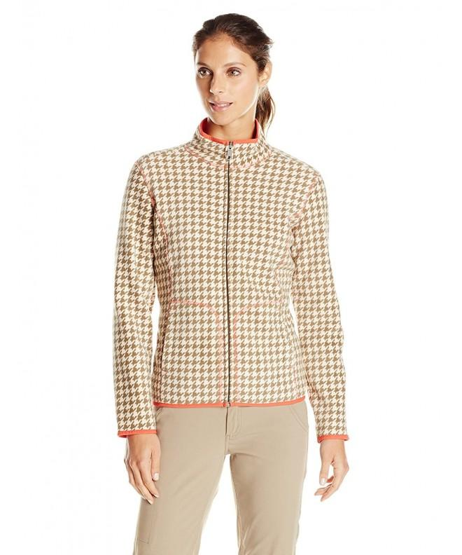 White Sierra Womens Printed Jacket