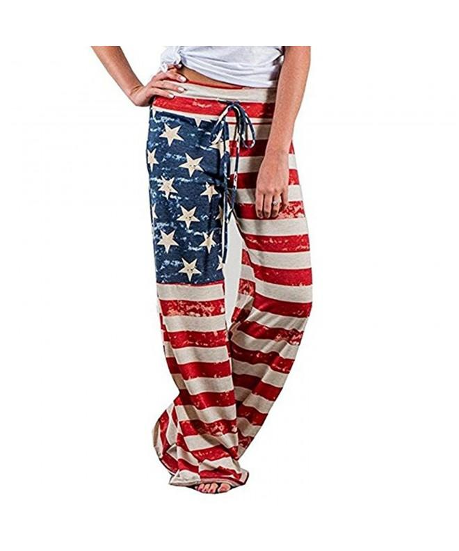 Xuan2Xuan3 American Stripes Patriotic Legging
