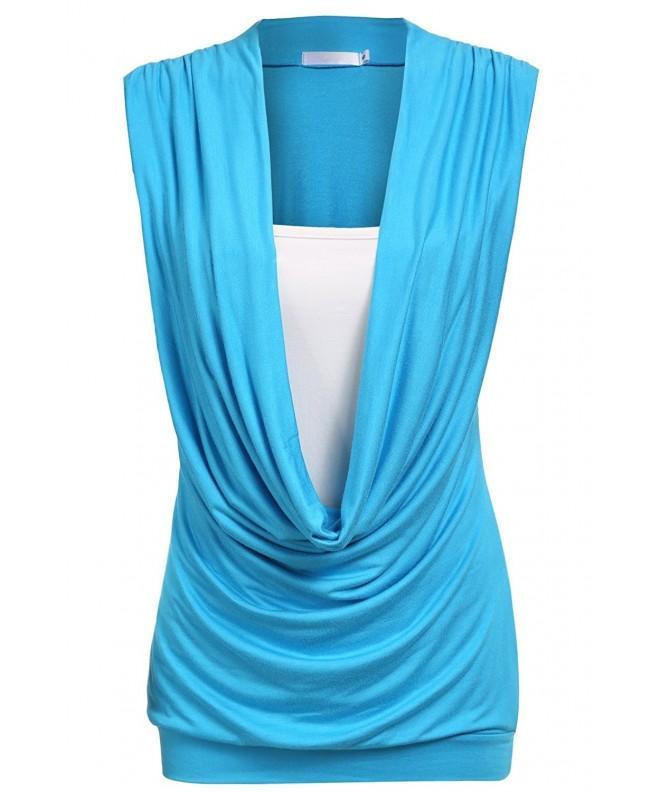 Beyove Womens Stretchy Fashion SkyBlue
