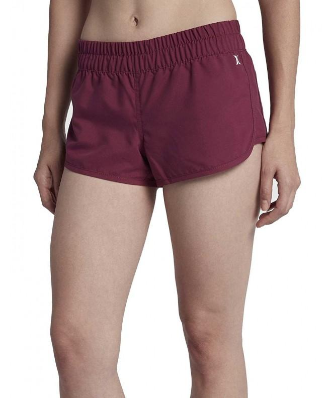 Hurley Supersuede Beachrider Bottoms Teaberry