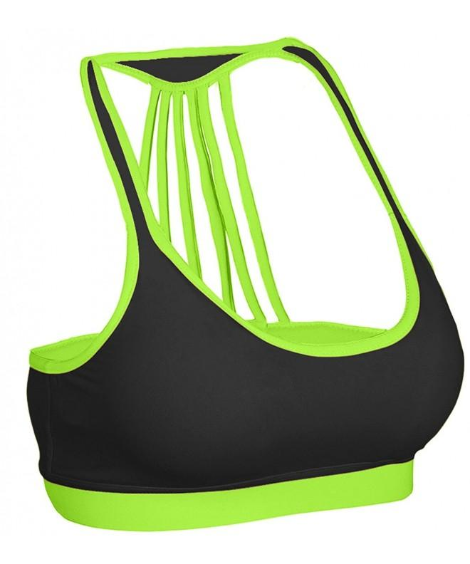 ZAIAI Womens Strappy Sports Green