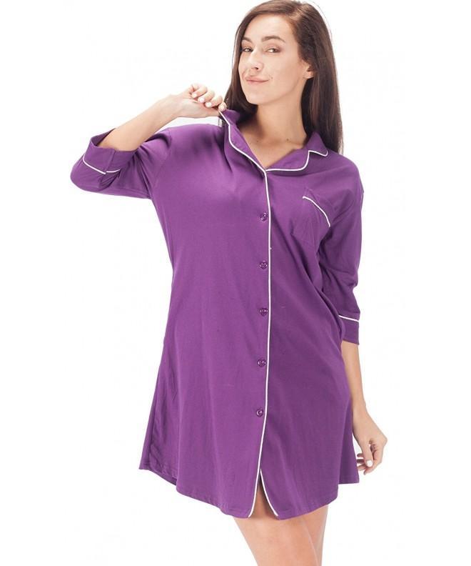 WEWINK CUKOO Sleepwear Boyfriend Nightshirt