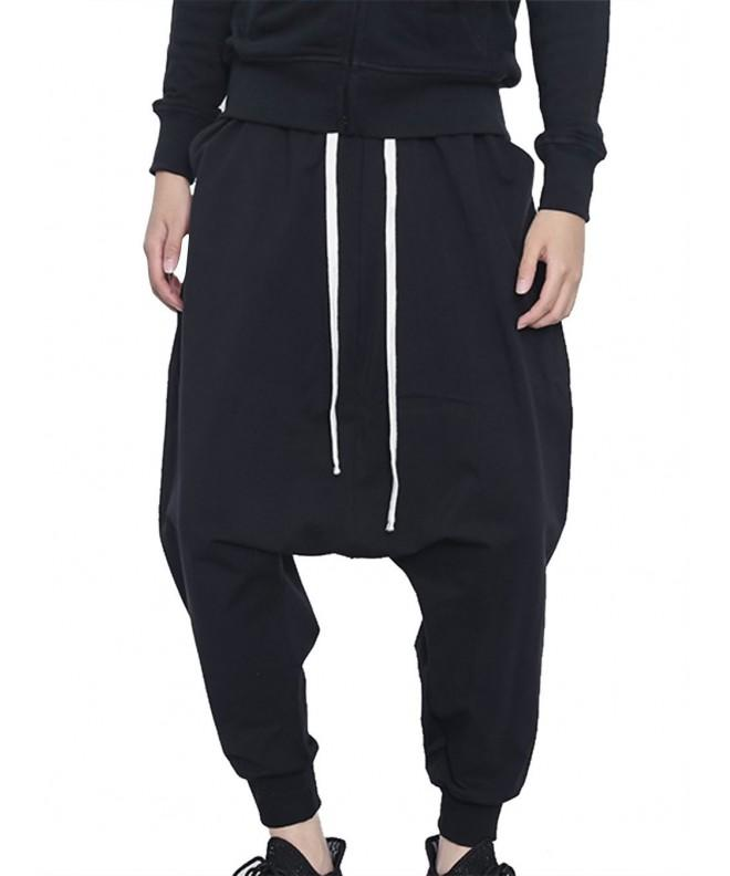 JINXUAN Baggy Crotch Jogging Drawstring