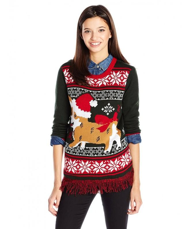 Ugly Christmas Sweater Light Up Evergreen