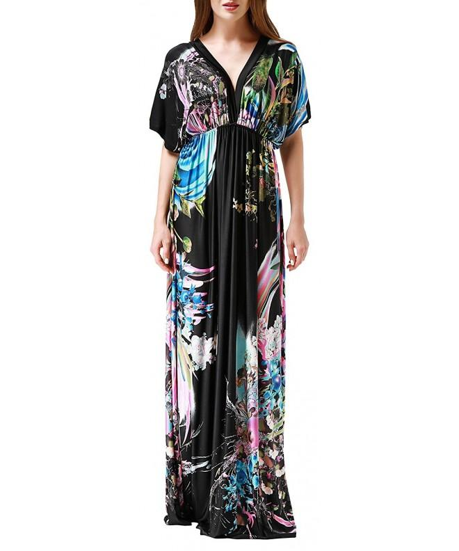 Wantdo Women Beach Dress Printed