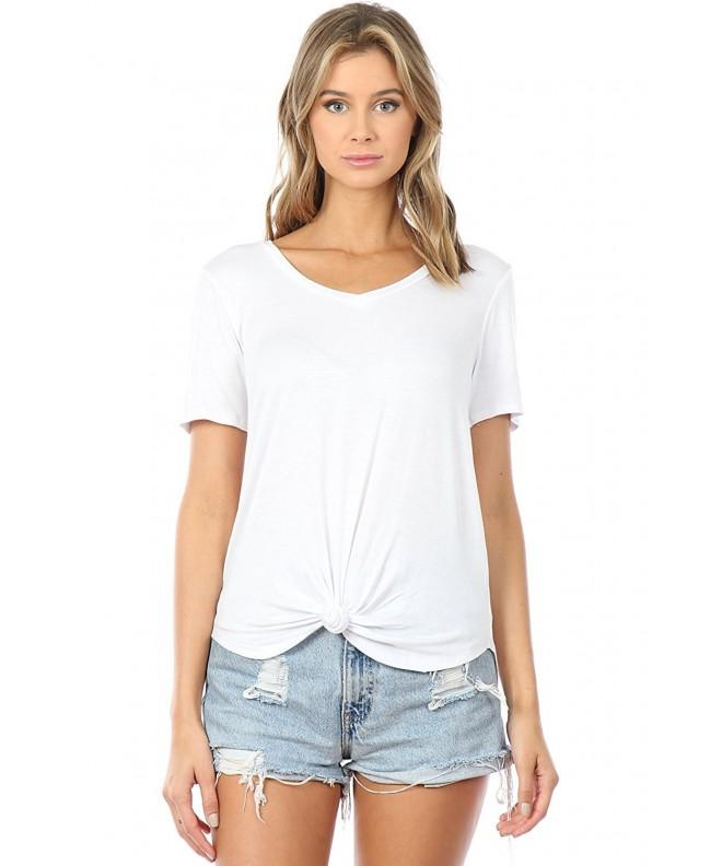 BQU T4493 S Short Sleeve Front White