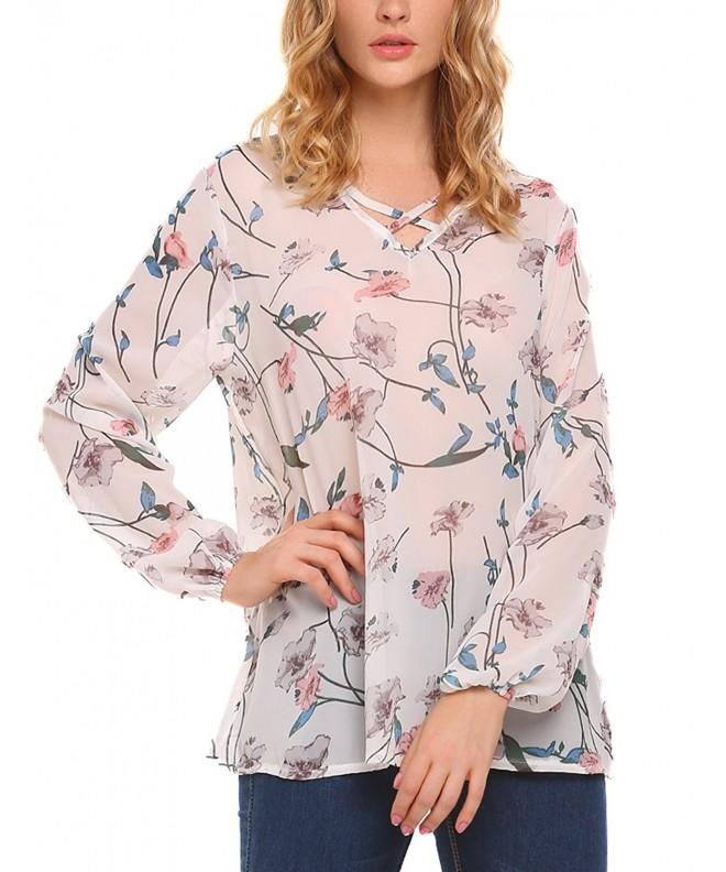 Easther Chiffon Floral Sleeve Blouse