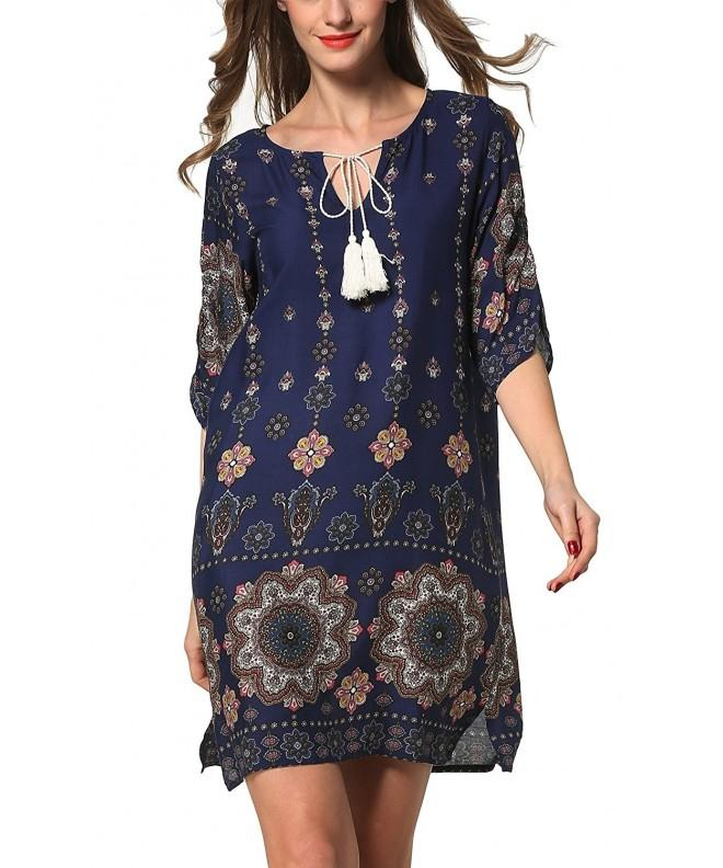 ARANEE Womens Vintage Print Shift
