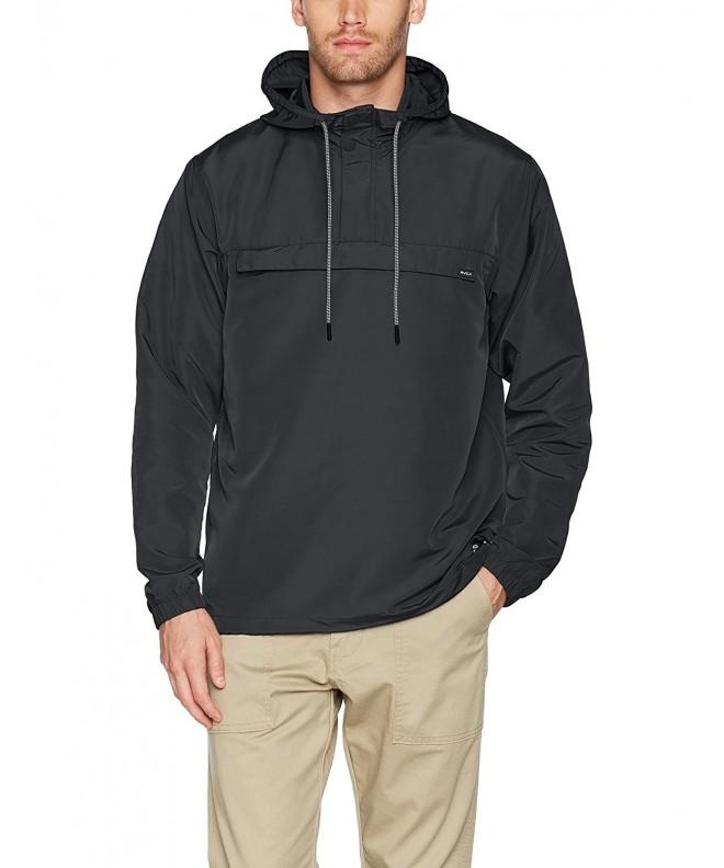 RVCA Packaway Anorak Jacket Black