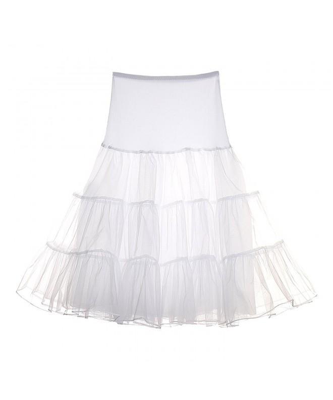 GINVELL Vintage Petticoat Crinoline Underskirts