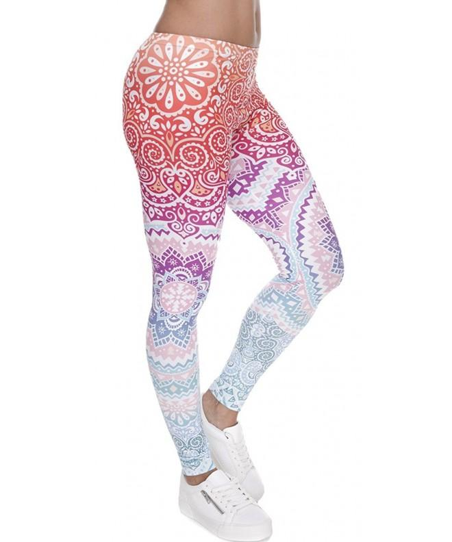 Ndoobiy Printed Leggings Full Length Regular