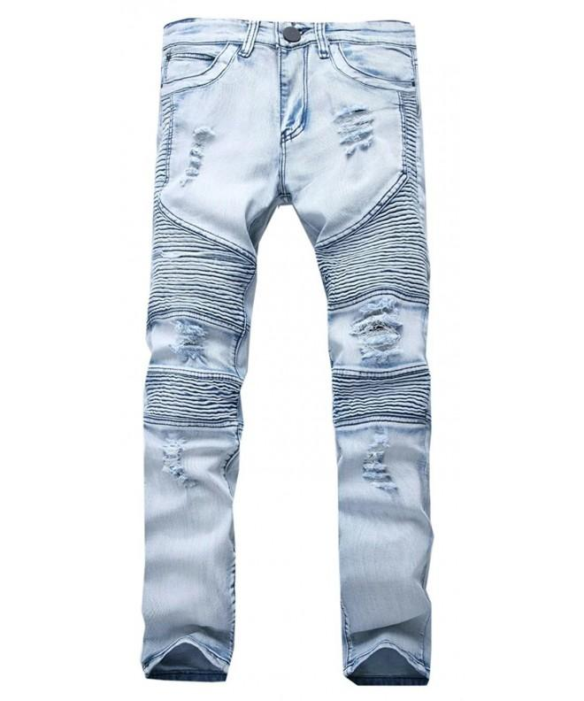 Cameinic Hiphop Skinny Runway Distressed