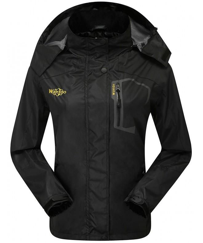 Wantdo Womens Outdoor Softshell Waterproof