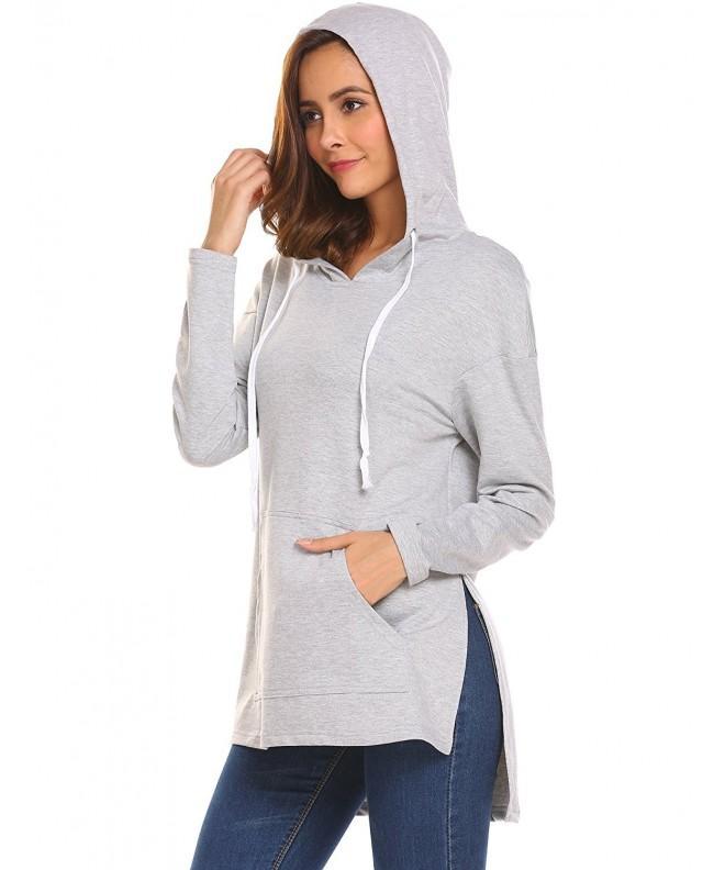 Miageek Womenss Pullover Drawstring Sweatshirt
