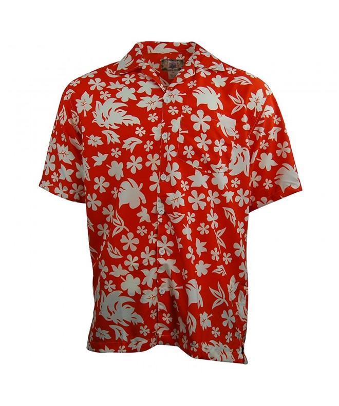 Sleeve Button Up Lightweight Hawaiian XX Large