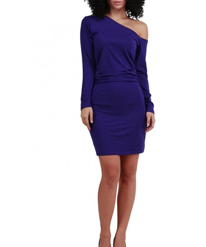 AVINE Womens Shoulder Evening Bodycon