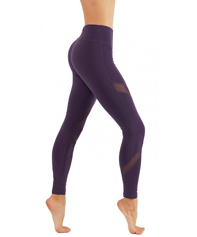 CodeFit Dry Fit Exposed Leggings CF225 D Vio