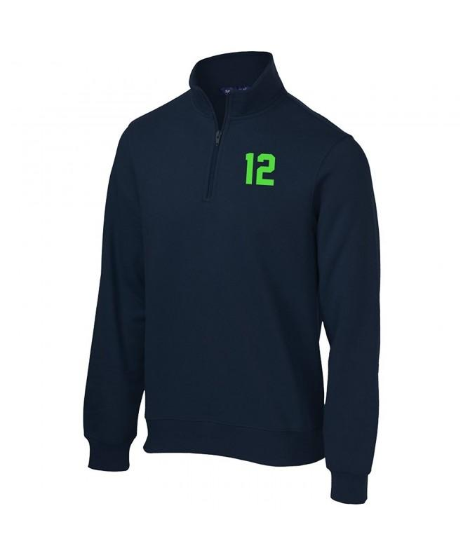 Seattle 12 Ladies Zip Sweatshirt