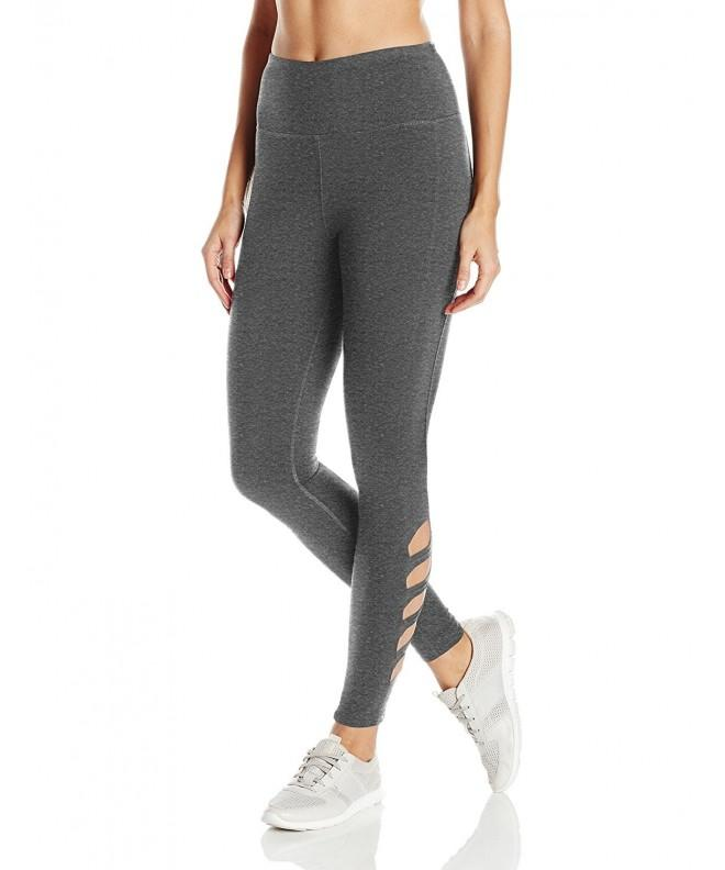 Steve Madden Womens Leggings Charcoal
