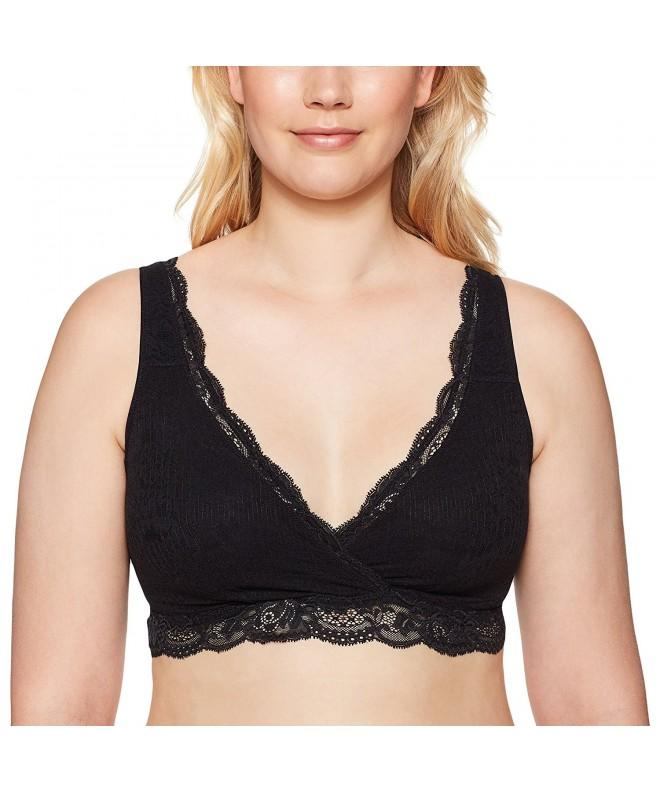 Arabella Womens Supportive Bralette Black