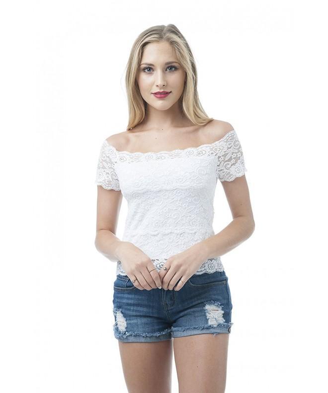 Short Sleeve shoulder OneSize White