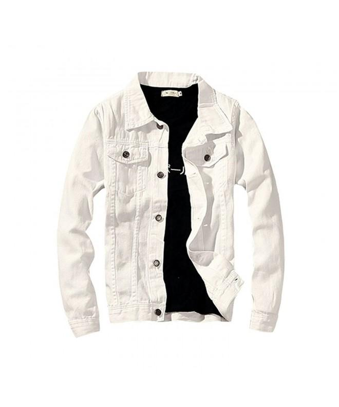 LifeHe Denim Jacket Fashion Jeans