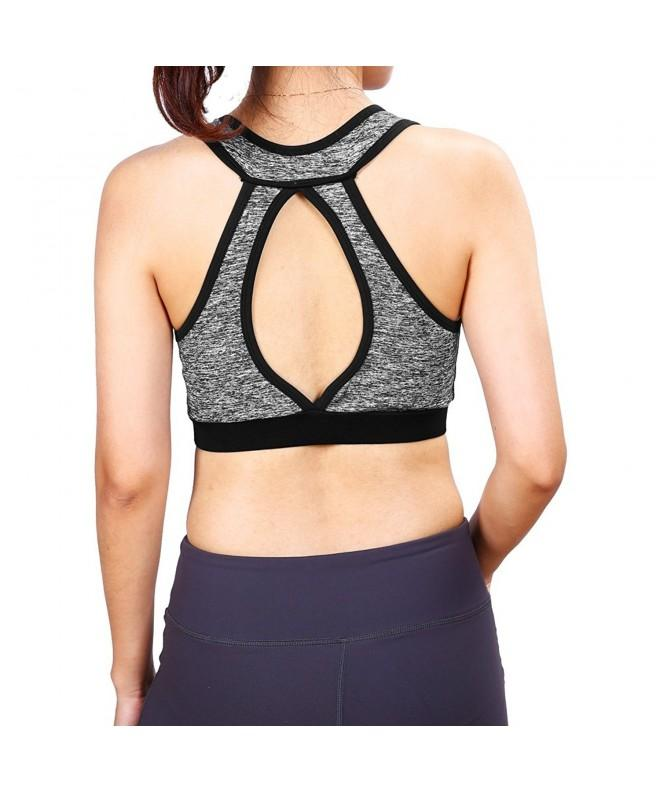 Racerback Sports Bras Seamless Activewear