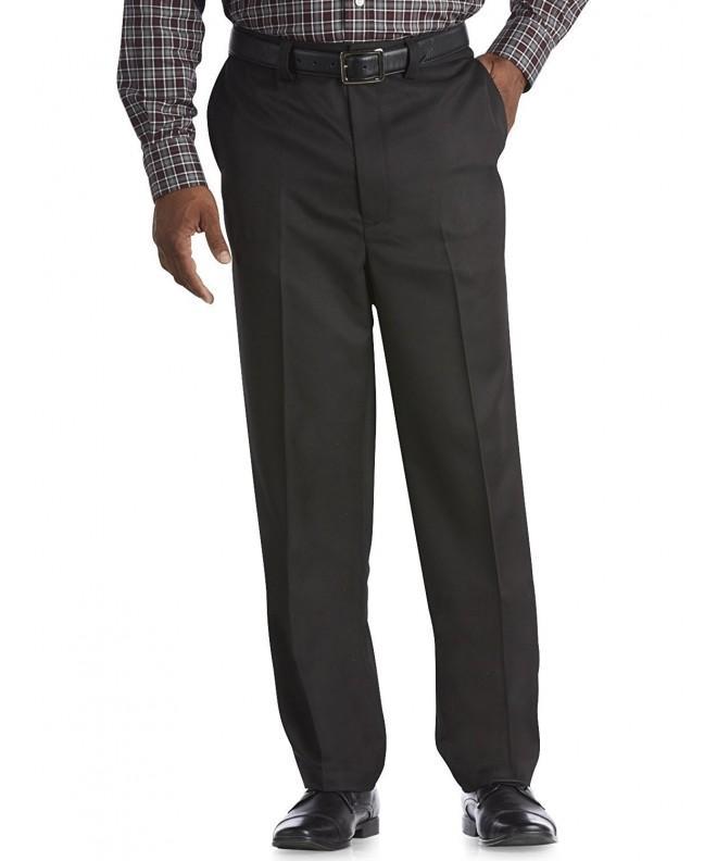 Oak Hill Flat Front Microfiber Pants