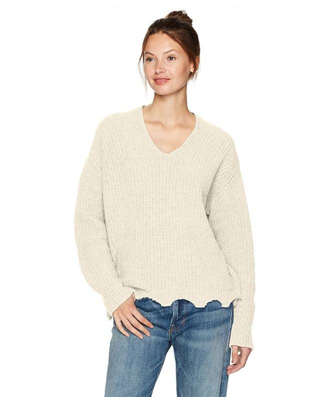 Moon River Womens Chunky Sweater