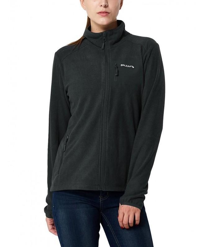 Baleaf Womens Mid Weight Fleece Pullover