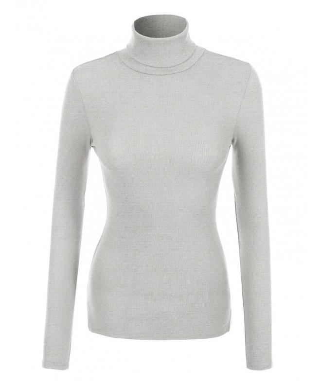 RK RUBY KARAT Womens Turtleneck