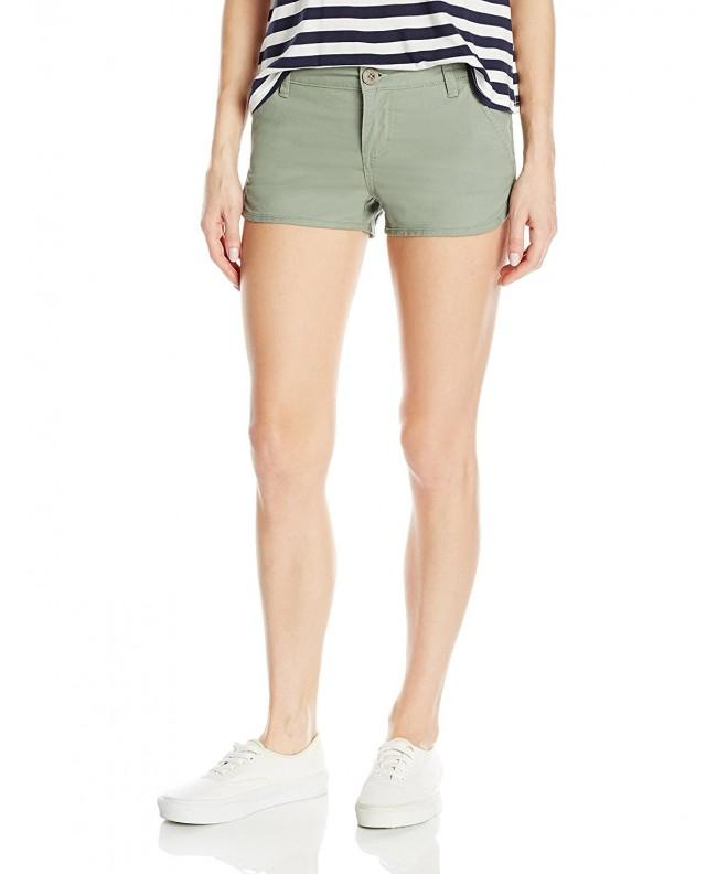 RVCA Juniors Short Smoke Green