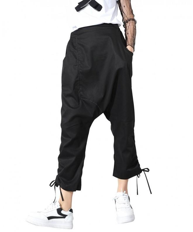 ELLAZHU Casual Drawstring Crotch GY1219