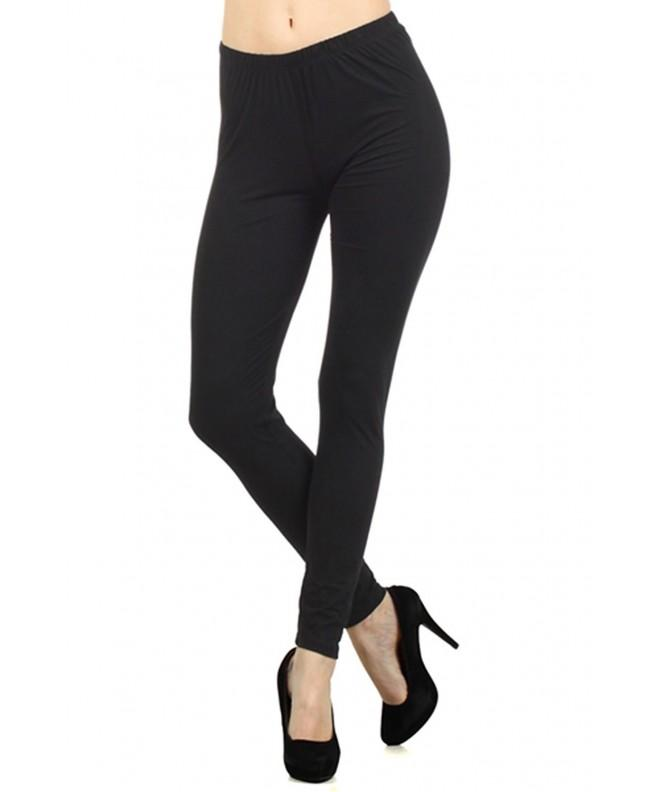 Always Womens Solid Length Leggings