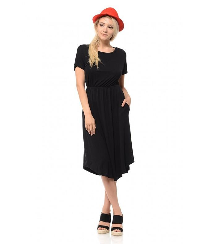 iconic luxe Womens Sleeve Pockets