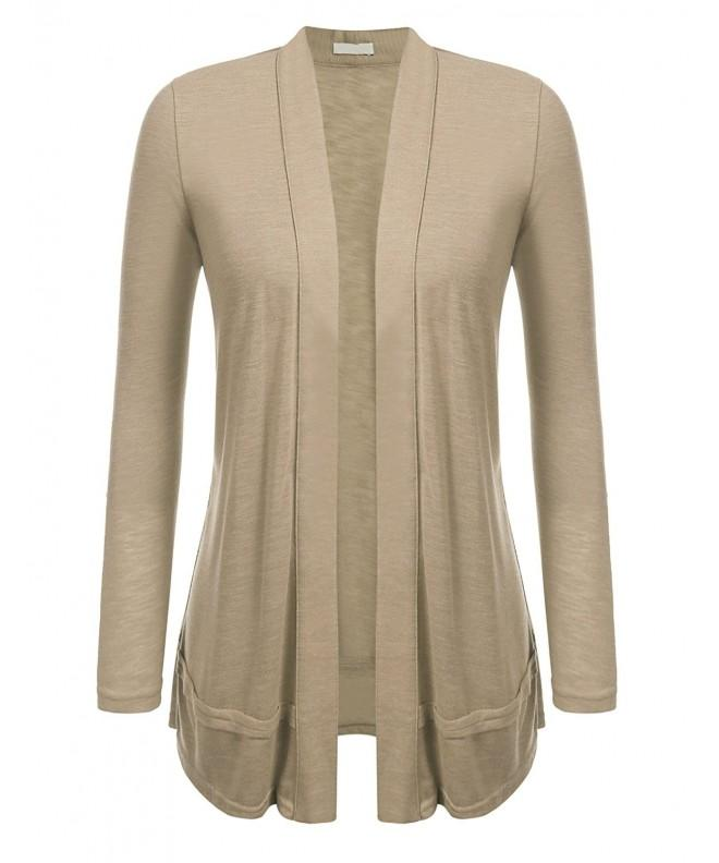 Zeagoo Womens Cotton Cardigan X Large