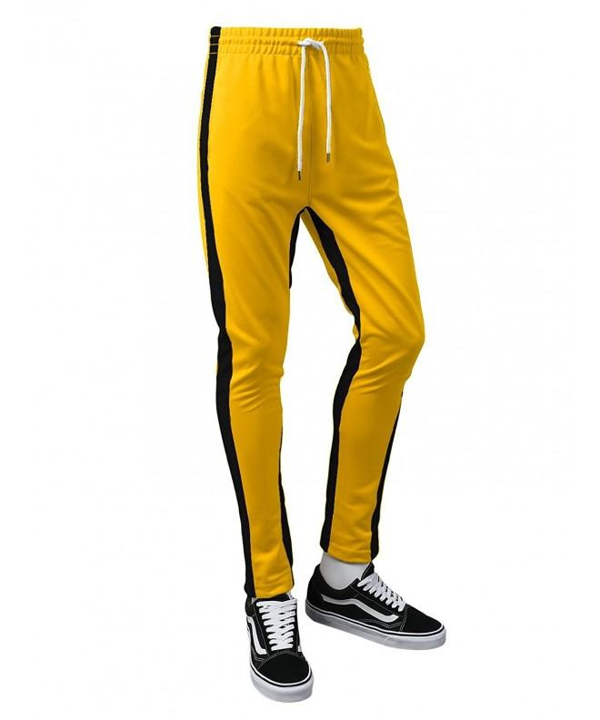 URBANCREWS Hipster Skinny Yellow Medium