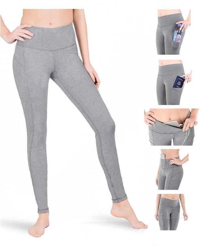 SPARKLE Leggings Pockets Athletic Control