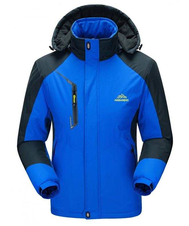 WenVen Waterproof Windproof Outdoorwear Sapphire