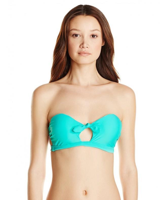 raisins Womens Summer Bandeau Bikini