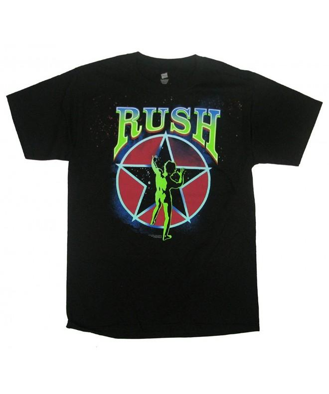 Rush Starman 2112 T shirt Tee large