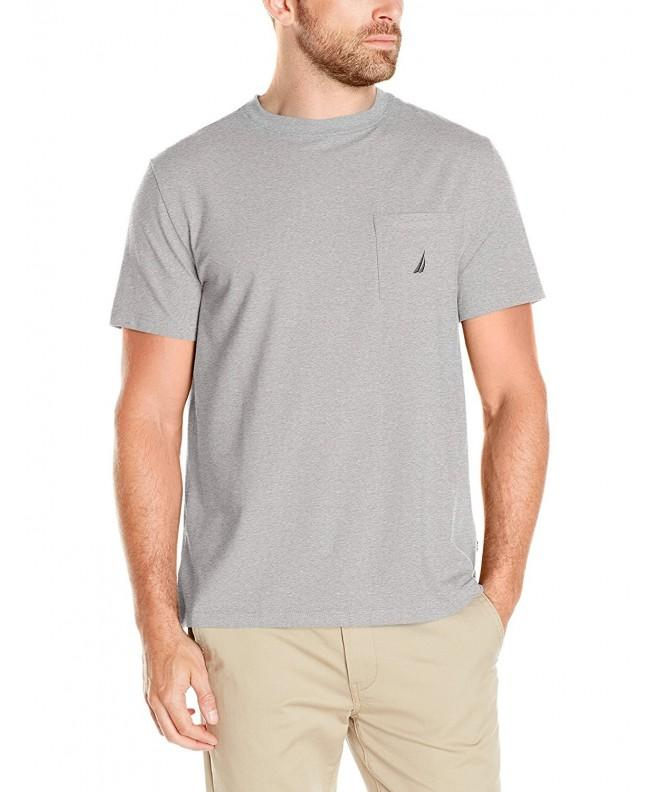 Nautica Sleeve Pocket T Shirt Heather