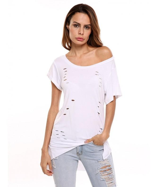 COSBEAUTY Womens Hollow Sleeve Cotton