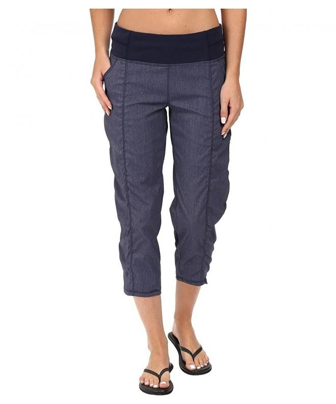Lucy Womens Going Capri Heather