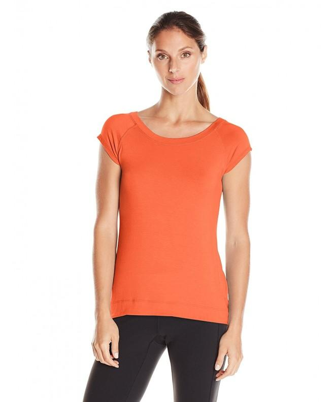 Karen Kane Womens Orange Medium