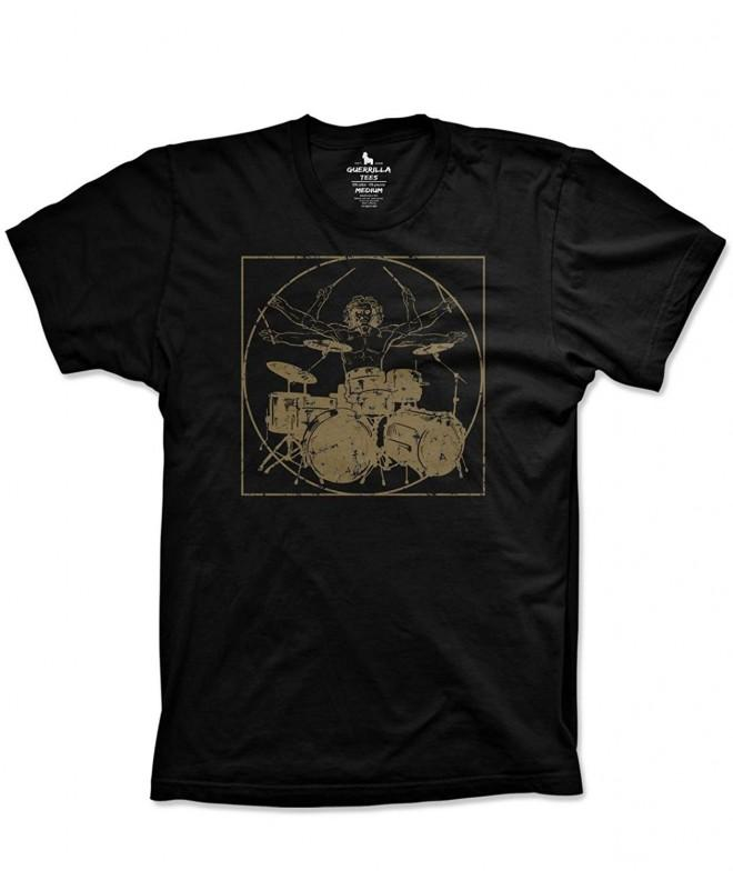 Davinci drummer drumming percussion tshirts