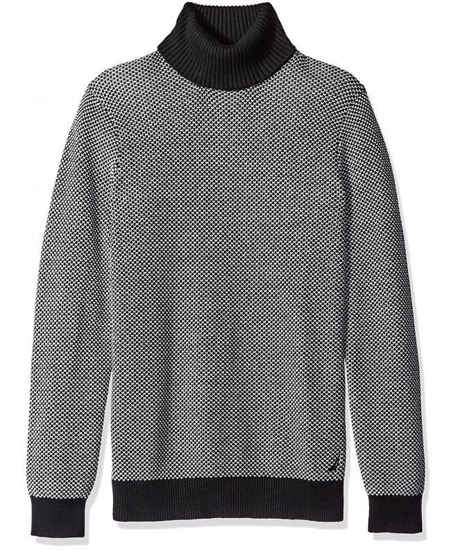 Nautica Sleeve Jacquard Sweater XX Large