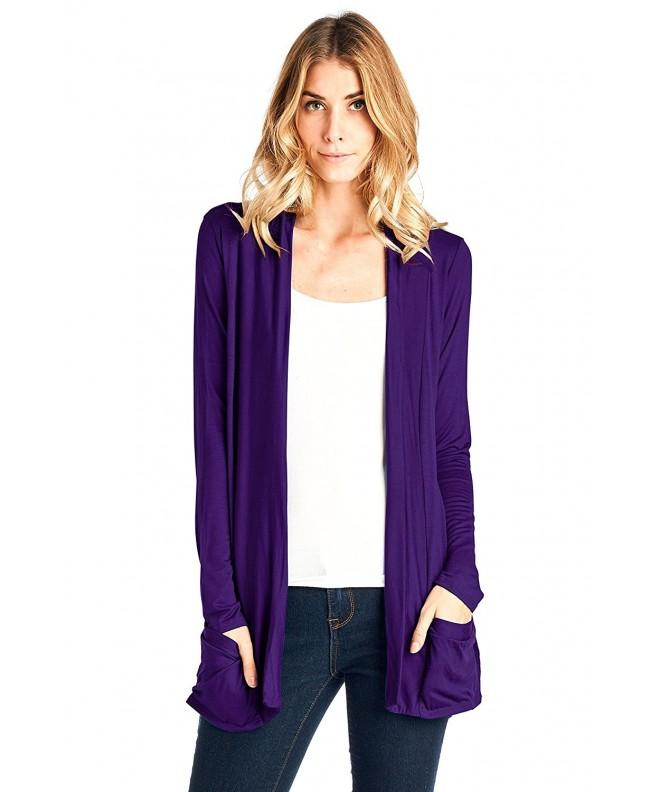 12 Ami Sleeve Pocket Cardigan