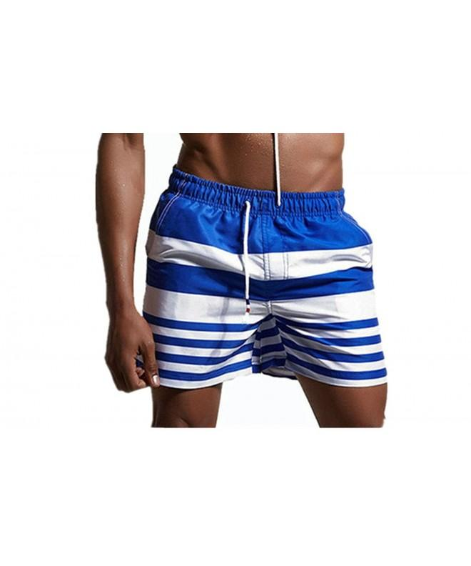 ZIITOP Stripe Trunks Casual Sportwear